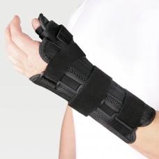 Бандаж на лучезапястный сустав с фиксацией большого пальца на правую руку WS-ST (right)
