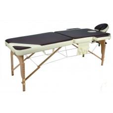 Портативный массажный деревянный стол класса люкс JF-AY01 (2х секционный )