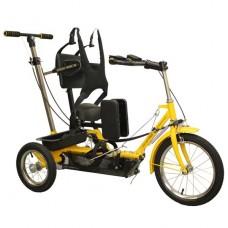 Велосипед для детей ДЦП с электродвигателем Ангел Соло №3 (42-72см / 100кг)